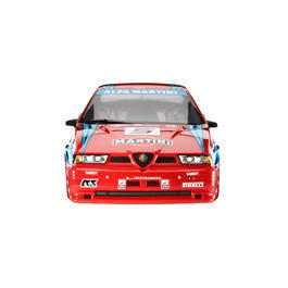 Killerbody 1:10 Polycarb. Karosserie Alfa Romeo 155 GTA rot RTU all-in 190mm
