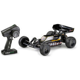 Team C 1:10 TR02 V2 2WD Brushed Buggy 2,4 GHz RTR Set TR02V2RTR