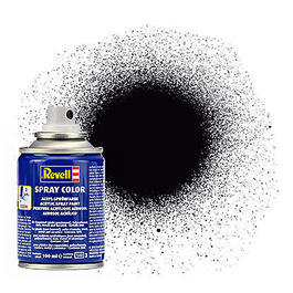 Revell Acryl Spray Color Sprühdose Schwarz matt 100ml 34108