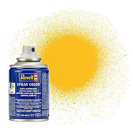Revell Acryl Spray Color Sprühdose Gelb matt 100ml 34115