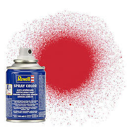 Revell Acryl Spray Color Sprühdose Feuerrot seidenmatt 100ml 34330