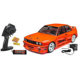 HPI 1:10 RS4 Sport 3 BMW M3 E30 4WD Brushed Wasserdicht 2,4 GHz 100% RTR H114343