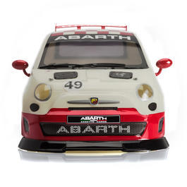 TRL 1:10 Polycarbonate Karosse Fiat 500 Abarth 200mm - lackiert rot-weiss TRL111