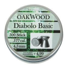 Oakwood Basic Diabolo Kal. 4,5 mm 500 St�ck
