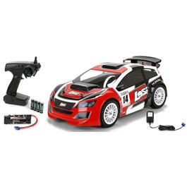 Losi 1:14 Mini Rally Car 4WD Brushless 2,4 GHz 100% RTR Set LOS01008I