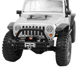 RC4WD ARB Stubby JK Front Winch Bumper f. SCX10 Chassis schwarz Z-S1332