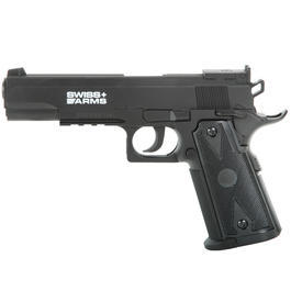 Swiss Arms P1911 Match CO2 Pistole 4,5mm BB schwarz