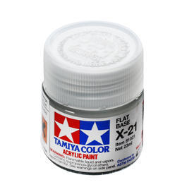 Tamiya X-21 Mattier Medium Acryl-Harz Farbe 23ml