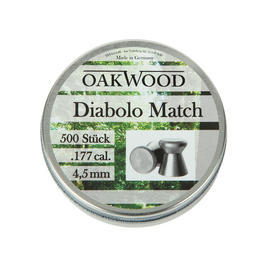 Oakwood Match Diabolo Kal. 4,5 mm 500 St�ck