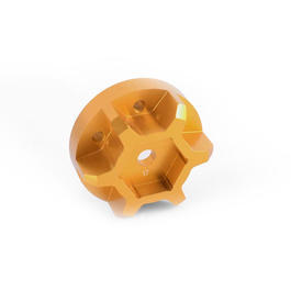 RC4WD Universal Hex Hub 17mm f. Series 40 Felgen (2 St�ck) orange Z-S0847