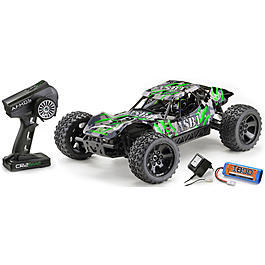 Absima 1:10 ASB1 4WD Brushed Sand Buggy 2,4 GHz RTR grün 12203