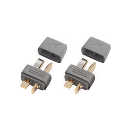 Star Plug Goldkontakt T-Stecker Set (2x Stecker) HCAM4010