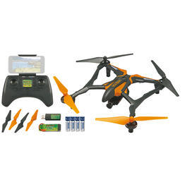 Dromida Vista FPV UAV Quadcopter 4-Kanal 2,4 GHz 100% RTF + HD-Kamera orange DIDE04NN