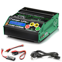 Absima GPS-1 Charger Ladeger�t f. LiPo / NiMH / Pb 12 / 230V 4000012