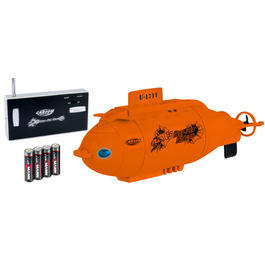 Carson XS Deep Sea Dragon Mini U-Boot 3-Kanal 40 MHz 100% RTR Set orange 500707117