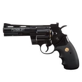 Sport-Waffen - Colt Python 4 Zoll CO2 Revolver4,5mm Stahl BB schwarz