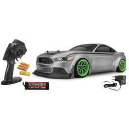HPI 1:10 RS4 Sport 3 RTR Ford Mustang 2015 Spec 5 4WD Brushed 2,4 GHz 100% RTR H115126