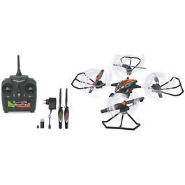 Jamara Oberon Altitude AHP Quadrocopter 4+6 Kanal 2,4 GHz RTF Set + HD-Kamera orange 422007