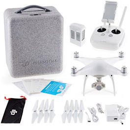 DJI Phantom 4 Quadrocopter inkl. 12 MP 4K Kamera 2.4 GHz 100% RTF Set