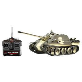 Panzermodell - Torro RC Panzer Jagdpanther1:16 Pro Editionschussfähig Metallketten RTR Sommertarn camo