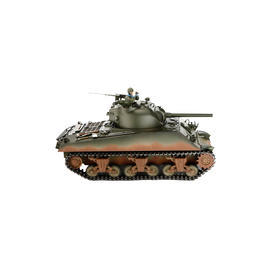 Torro RC Panzer Sherman M4A3 Pro Edition 1:16 schussfähig RTR oliv