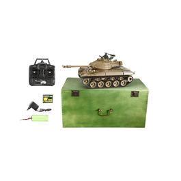 Amewi RC Panzer M41 Walker Bulldog 1:16 schussfähig 2,4 GHz Control Edition RTR oliv