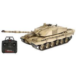 Panzermodell - Torro RC Panzer Challenger II 1:16 Pro-Edition Metallketten schussfähig RTR Wüstentarn