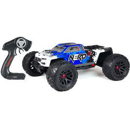 Arrma 1:8 Nero 6S EDC BLX-Brushless 4WD Monster Truck 2,4 GHz RTR Set blau AR106011