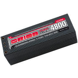 Team Orion LiPo Akku 14.8V 4800mAh 110C Carbon Pro Ultra 1/8 Hardcase 5mm ORI14084
