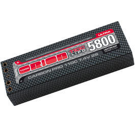 Team Orion LiPo Akku 7.4V 5800mAh 110C Carbon Pro Ultra Lightweight Hardcase 4mm ORI14087