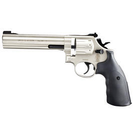 Smith & Wesson Mod. 686 6 Zoll CO2 Revolver Kal. 4,5mm (.177) Diabolo vernickelt