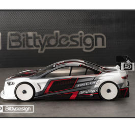 Bittydesign 1:10 Polycarbonate Karosse Ascari 190mm Light BDTC-190ASC
