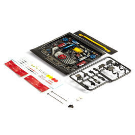 Killerbody 1:10 Motoreinsatz Touring Car Type-E lackiert KB48496