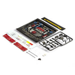 Killerbody 1:10 Motoreinsatz Touring Car Type-C lackiert KB48494