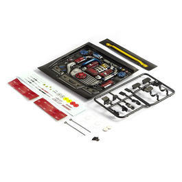 Killerbody 1:10 Motoreinsatz Touring Car Type-A lackiert KB48492