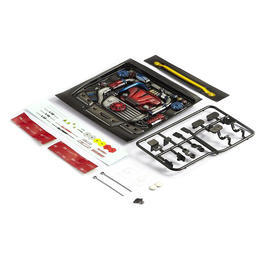 Killerbody 1:10 Motoreinsatz Touring Car Type-B lackiert KB48493
