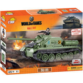 Cobi World Of Tanks Roll Out Small Army Bausatz Panzer SU-85 425 Teile 3003