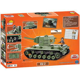 Cobi World Of Tanks Roll Out Small Army Bausatz Panzer KV-2 500 Teile 3004