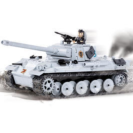 Cobi World Of Tanks Roll Out Small Army Bausatz Panzer Panther G 450 Teile 3012