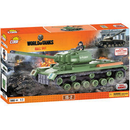 Cobi World Of Tanks Roll Out Small Army Bausatz Panzer IS-2 560 Teile 3015