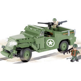 Panzermodell - Cobi Small Army Bausatz M3 Scout Car 330 Teile 2368
