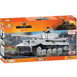 Cobi World Of Tanks Roll Out Small Army Bausatz Panzer Tiger I 555 Teile 3000