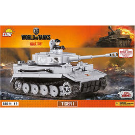Cobi World Of Tanks Roll Out Small Army Bausatz Panzer Tiger I 540 Teile 3000