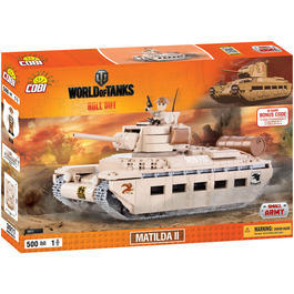 Cobi World Of Tanks Roll Out Small Army Bausatz Panzer Matilda II 500 Teile 3011