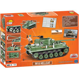Cobi World Of Tanks Roll Out Small Army Bausatz Panzer M18 Hellcat 465 Teile 3006
