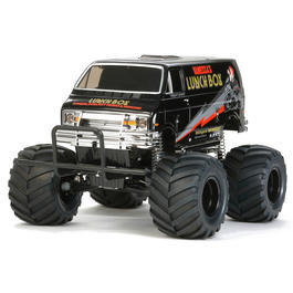 Tamiya 1:12 Lunch Box 2WD Monster Truck Black-Edition Bausatz 58546