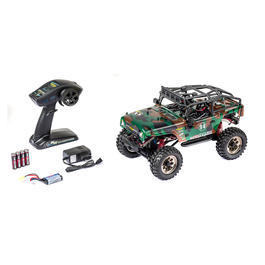 Carson 1:12 Mountain Warrior Sport 4WD Crawler 2,4 GHz 100% RTR Set Camouflage 500404070