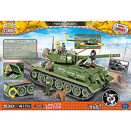 Cobi Small Army Bausatz Panzer T34/85 Rudy 530 Teile 2486 - Limited Edition