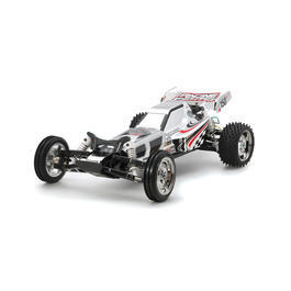 Tamiya 1:10 DT-03 Racing Fighter Buggy 2WD Chrome Bausatz inkl. Regler / Motor 47347
