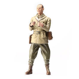 Modellbau Figur Captain Commander A. Ross stehend 1:16